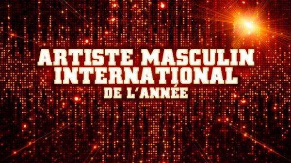 Chanteur International de l'année