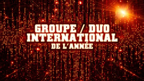 Groupe/duo International de l'année