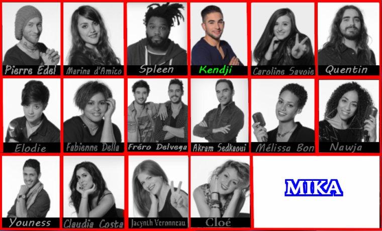 The voice 3  les équipes