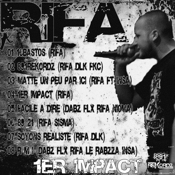 Maxi 1er ImpacT de RifA enfin DisP0 !!!