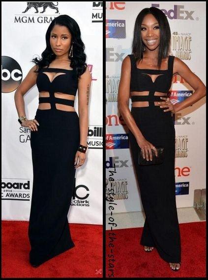 Qui la porte le mieux ? Robe longue noire.