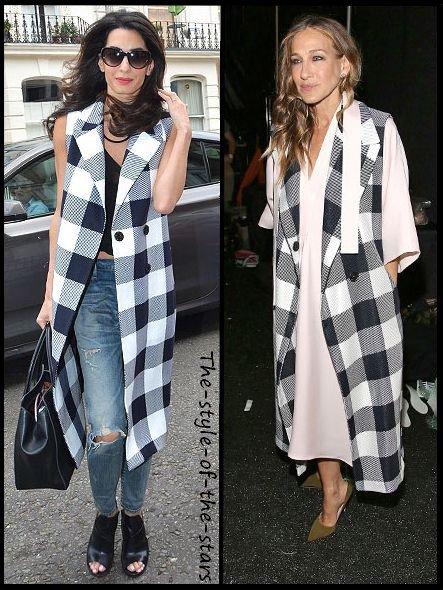 Qui le porte le mieux ? Manteau long sans manches.
