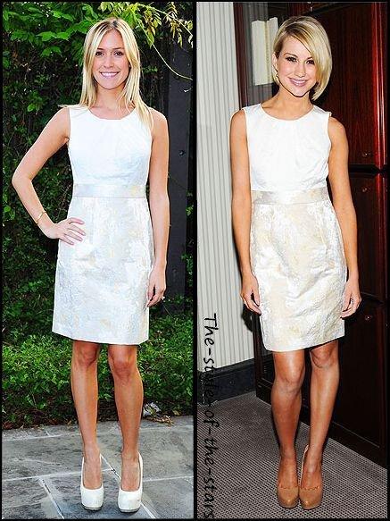 Qui la porte le mieux ? Robe blanche.