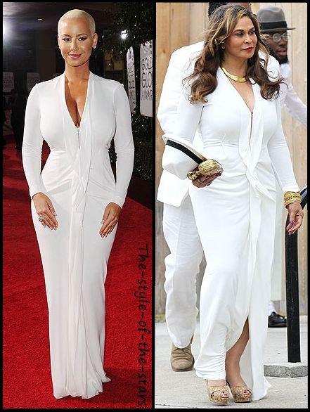 Qui la porte le mieux ? Robe longue blanche.