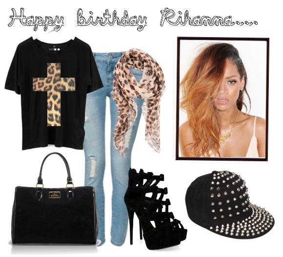 Tenue N°61 (Anniv. Rihanna)
