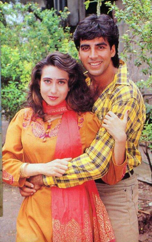 Akshay and karishma