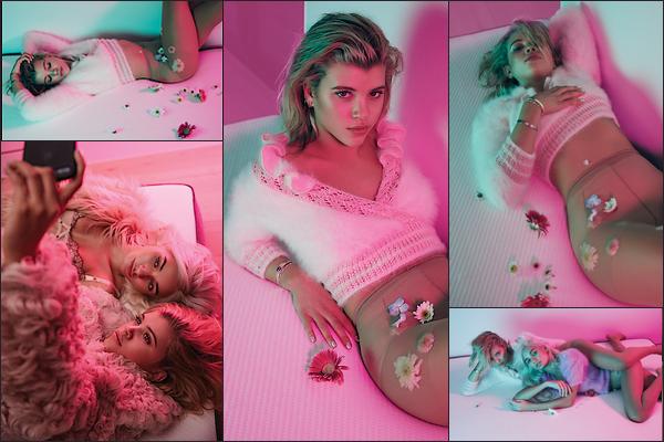 - ● PHOTOSHOOT - DécouvrezSofia avec Pia Mia pour Flaunt Magazine's du mois de mars. -