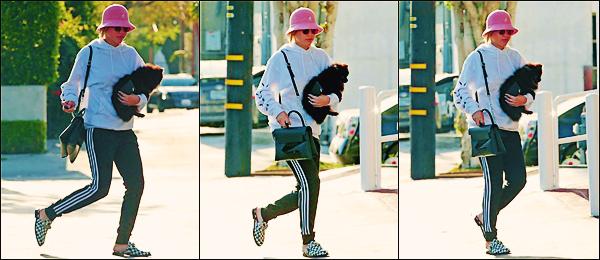 - 30&31/03/17 -C'est de nouveau dans les rues que nous retrouvons la blonde Sofia Richieà Los Angeles. C'est en faisant les boutique que notre jeune et belle mannequin à était aperçue. J'accorde un mini top à ses tenues! -