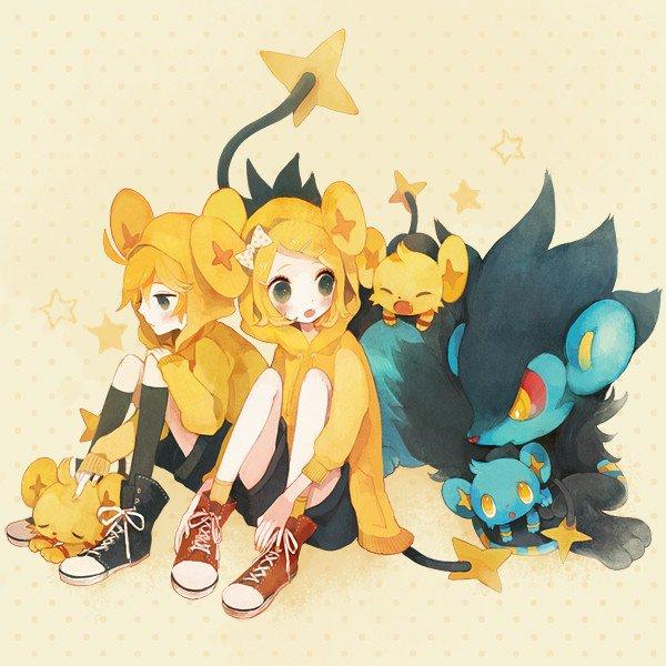 Les jumeaux Rin et Len Kagumine