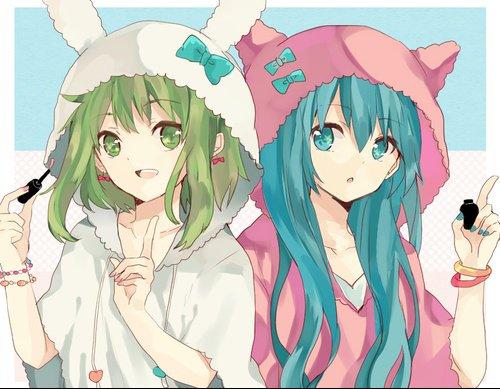 Les filles de Vocaloid