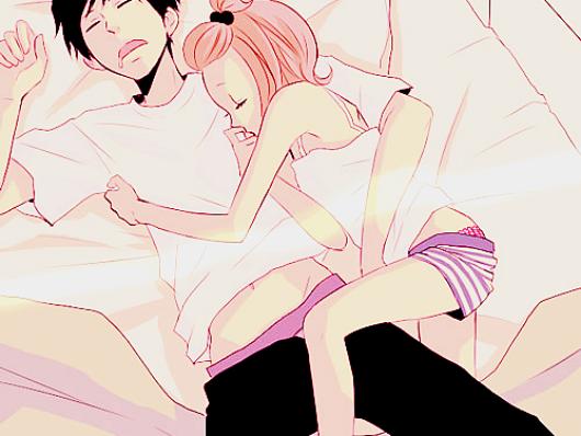 Soirée pyjama chez moi .! (^O^)