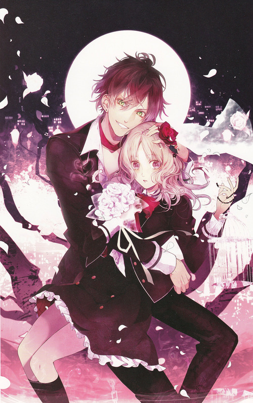 Images de l'anime Diabolik Lovers ♥