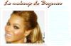 Tuto makeup : un makeup glamour & glossy à la Beyonce .