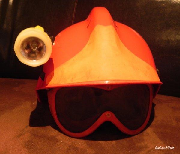 casque F2 feu de forêt