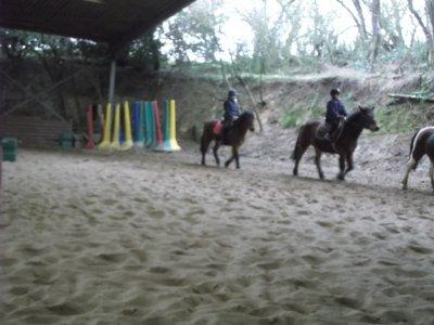 Cyrine et Pony
