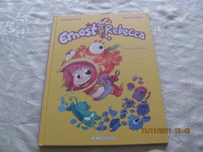 bande dessinée Ernest et Rebecca   très bon état
