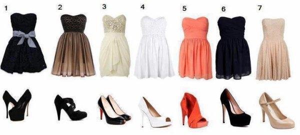 Qu'elle robe préférez-vous ??