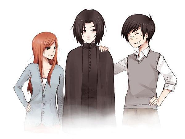 Lily, James et Severus - Une amitié qui jamais ne se termine
