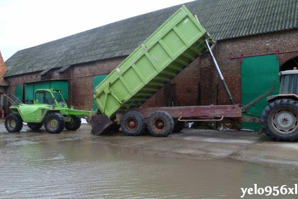 Boudin de maïs grain