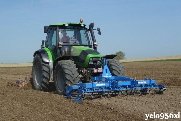 Plantation de patates