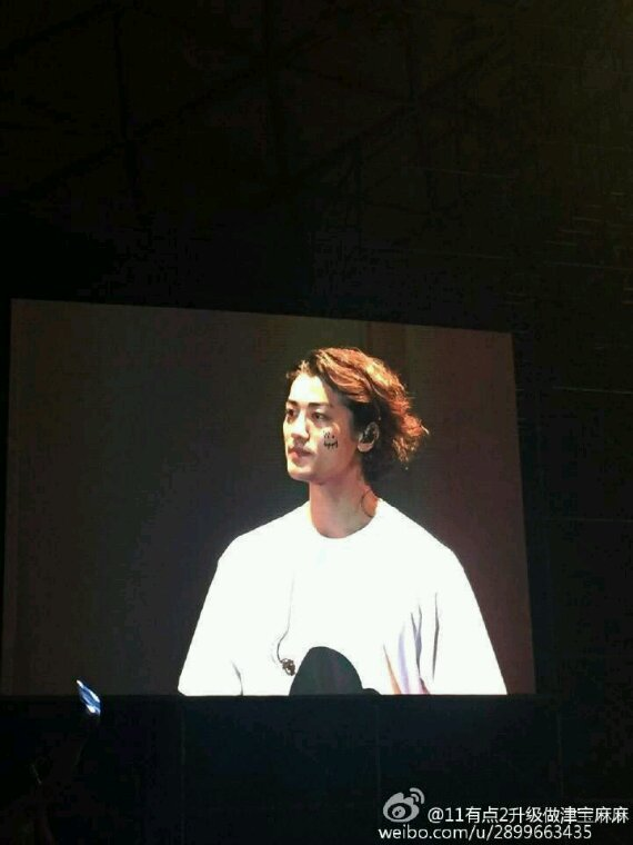 Jin Akanishi Live Tour 2016 Audio Fashion à Shangai