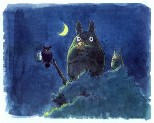 Le p'tit mot de Totoro