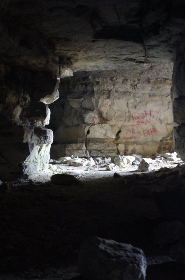 Grotte de La Lune , Villers St Paul (60)