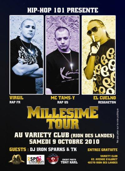 Mellesime Tour 2010 Feat. Mc Tams-y, El Cuelno & Dj Kanaty
