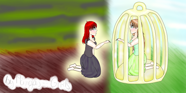 La fille en cage V2 ♥