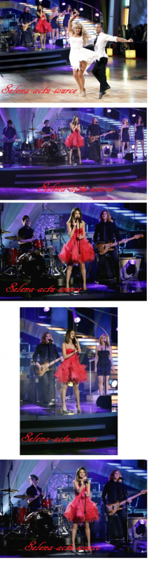 Selena Gomez au Dancing With Stars + photoshoot de la saison 4 des sorciers de waverl place