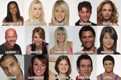 Les candidats de Secret Story n°2.