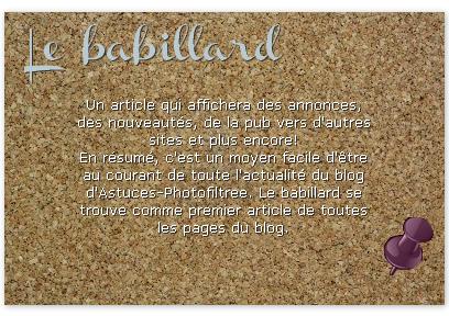 ____________Babillard.__