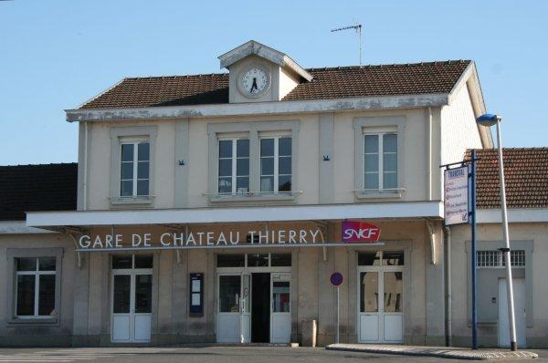 Gare de Chateau Thierry