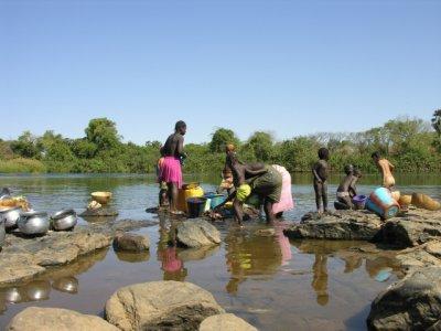 Au village l'eau coule à merveille pas de facture consomé a volonté