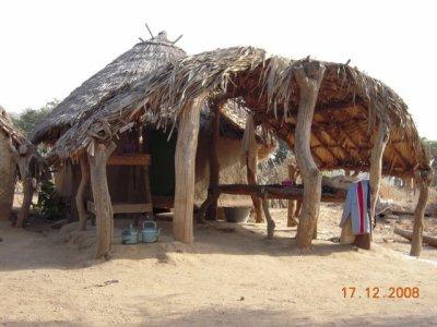 Le chateau du petit frére Lamine à foukara