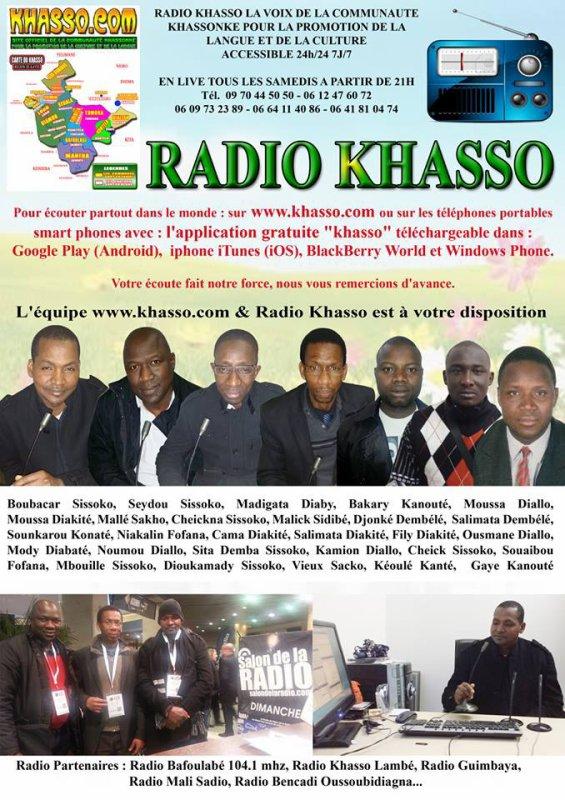 l'equipe de radio khasso