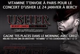 résumer concert de usher à paris bercy janvier 2011