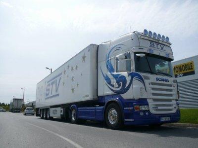 Scania r620 du boss des transports stv