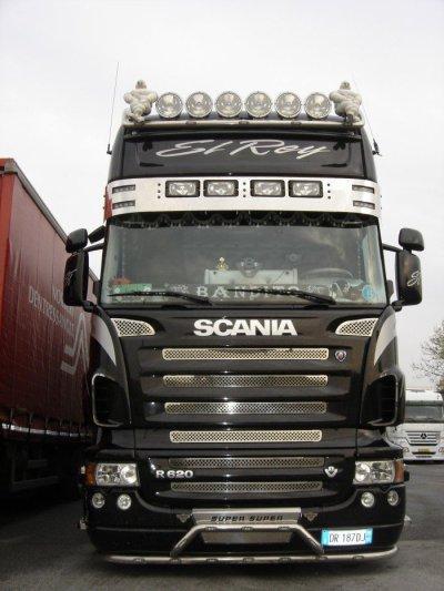 """Scania r620 """"El Roy"""" driver bandito"""