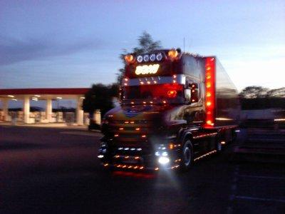 """Scania t500 de romu alias""""pti-king""""des transports Beau,magnifique cette ensemble"""