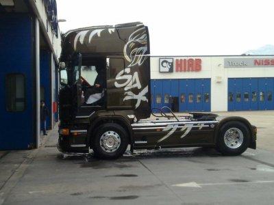 """New r 620 tou neuf ki sort de chez """"Scania Atelier"""" en italie il et vraiment sublime"""