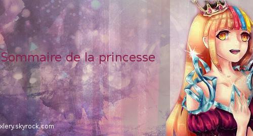 Sommaire de la princesse