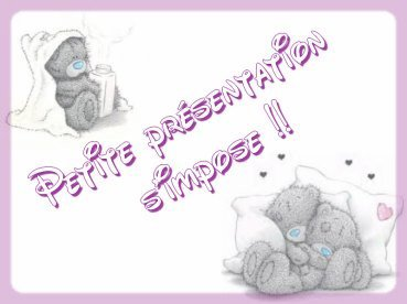 presentation simpose