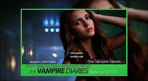 Voici un aperçu d'un photo promotionnelle de Nina pour la saison 4 de TVD !