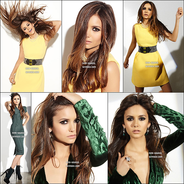"""D'autres photos de Nina pour le magazine """"Ocean Drive"""" viennent de sortir."""