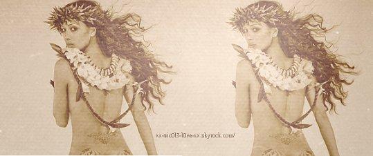 22.11.2011:  Nicole pose pour Raphael Mazzucco, pour le livre Culo