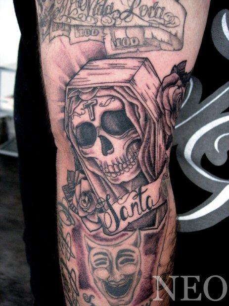 Santa Muerte ! - Blog de Néo Castillo tattoo