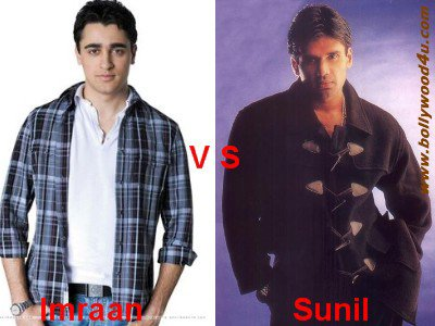 Imraan Khan vs Sunil Shetty