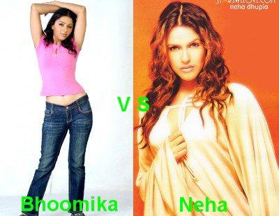 Bhoomika Chawla vs Neha Dhupia