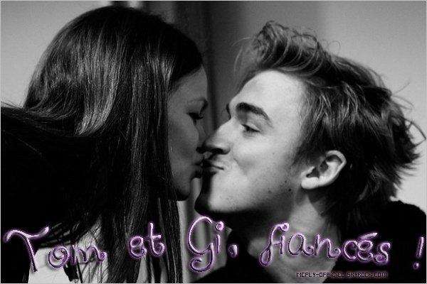 19 Avril 2011 : Tom & Giovanna sont enfin fiancés ! (Click sur l'image pour voir les tweets traduis par mes soins)  Nouvelle photo de Dan.